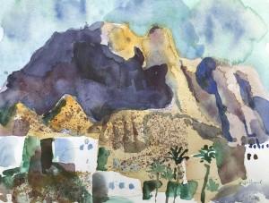 Gebirge bei Fataga, Gran Canaria ⋅ 1996 Image
