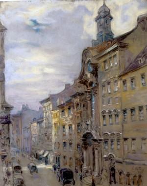 Die Sendlinger Straße in München ⋅ 1929 Image