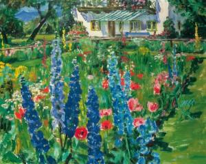 Bäuerlicher Garten ⋅ um 1950 Image