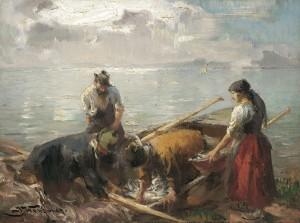 Fischerglück ⋅ um 1890 Image