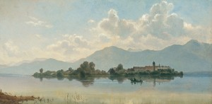 Frauenchiemsee ⋅ 1874 Image