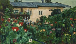 Garten im Juni (Feldwies) ⋅ um 1938 Image