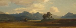 Das Inntal mit Heuberg und Kranzhorn ⋅ um 1845 Image