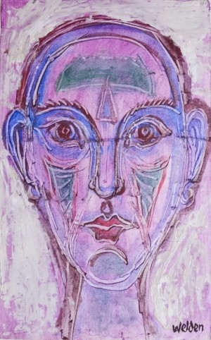 Maske Lila ⋅ um 1965 Image