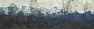Wintertag (Hochries, Karkopf, Feuchteck) ⋅ 1912 Image