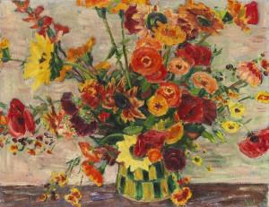 Roter Strauß ⋅ um 1940 Image
