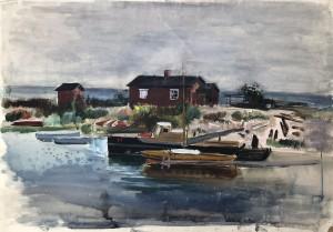 Binnenmeer in Stralsund ⋅ um 1936 Image