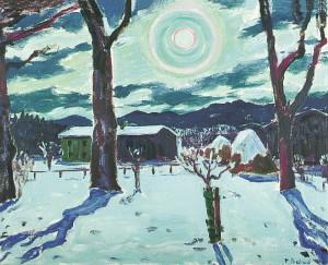 Winternacht (Feldwies) ⋅ um 1960 Image
