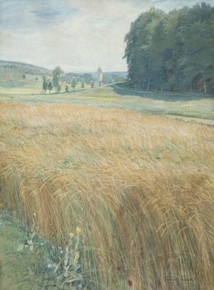 Kornfeld bei Pinswang ⋅ 1905 Image