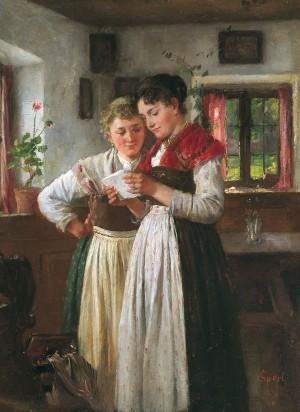 Der Liebesbrief ⋅ um 1882/85 Image