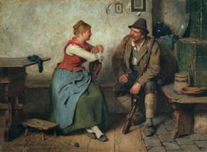 Plauderstunde ⋅ 1891 Image