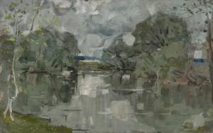 Uferpartie ⋅ um 1920 Image