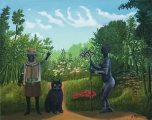 Die Schwarze Katze ⋅ um 1970 Image