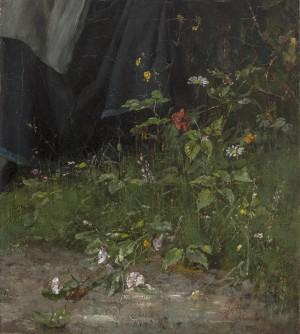 Blumen am Wegrand ⋅ um 1882 Image