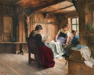 In der Bauernstube ⋅ 1887 Image