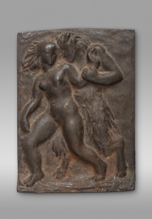 Faun mit Nymphe (Relief) ⋅ 1941 Image