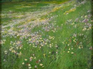 Blumenwiese bei Weßling ⋅ um 1915/20 Image