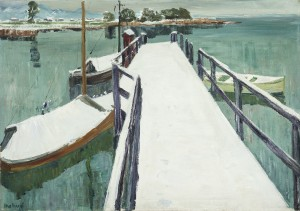 Winter am Chiemsee ⋅ um 1940 Image
