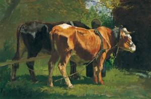 Ochsengespann (Pang) ⋅ 1878 Image