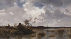 Moorlandschaft im Herbst ⋅ 1900 Image