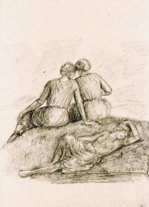 Rastende Frauen ⋅ 1943 Image