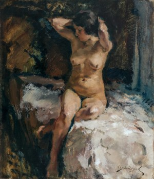 Modell im Atelier ⋅ 1923/27 Image