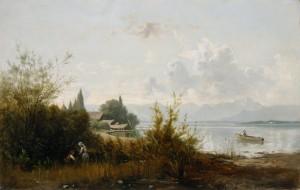 Chiemseelandschaft ⋅ um 1880 Image