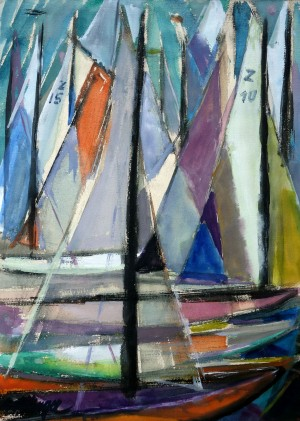 Segelboote ⋅ um 1950 Image