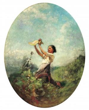 Sommertag ⋅ um 1870 Image