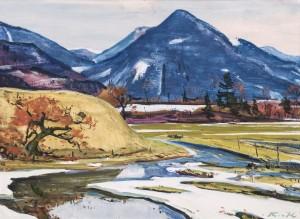Rechenberg im März bei Oberwössen Image