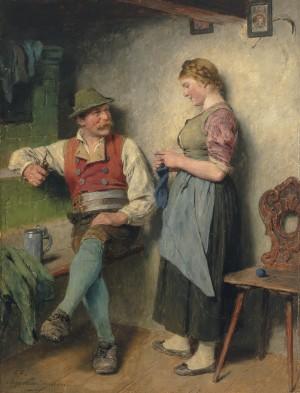 Zarte Tändelei⋅ 1907 Image