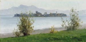 Blick zur Fraueninsel ⋅ um 1985 Image