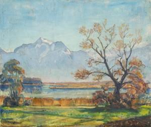 Herbststimmung am Chiemsee ⋅ um 1930 Image
