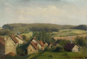 Künsterkolonie Willingshausen in Hessen ⋅ 1867 Image