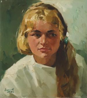 Mädchenbildnis ⋅ 1958 Image