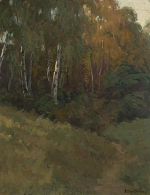 Birkenwäldchen ⋅ um 1920 Image