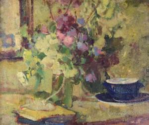 Stillleben am Fenster ⋅ um 1925 Image