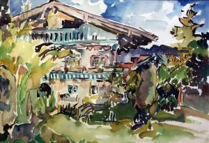Bauernhaus im Chiemgau Image