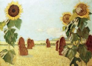 Sonnenblumen ⋅ 1924 Image