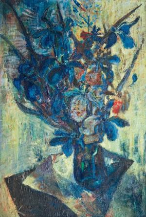 Blaues Blühen ⋅ 1963 Image