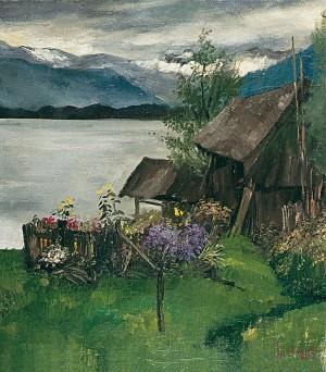 Bauerngarten am See ⋅ 1944 Image