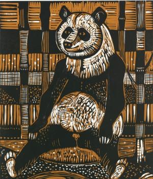 Großer Panda Bambusbär ⋅ 1974 Image