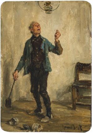 Das Mißgeschick des Fliegenfängers ⋅ um 1910/15 Image