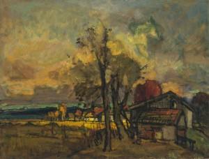 Herbst in Harras (am Schöllkopf) ⋅ um 1925 Image