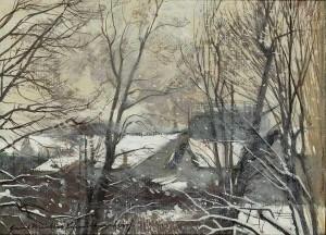 Wintertag ⋅ um 1945 Image