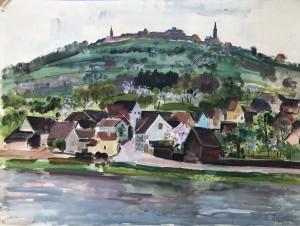 Die Bergfeste Dilsberg bei Heidelberg ⋅ 1941 Image