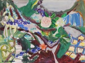 Blumengarten in Ruhpolding ⋅ 1966 Image