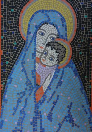 Geborgen (Entwurf für ein Mosaikbild) ⋅ um 1955 Image