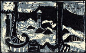 Winterbild im Interieur ⋅ 1981 Image