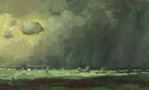 Gewitterregen ⋅ um 1925/30 Image